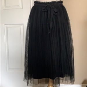 Francesca's Collections Skirts - Black tulle skirt